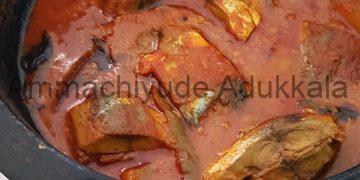 Thenga Arachu Mangayittu Vecha Meencurry