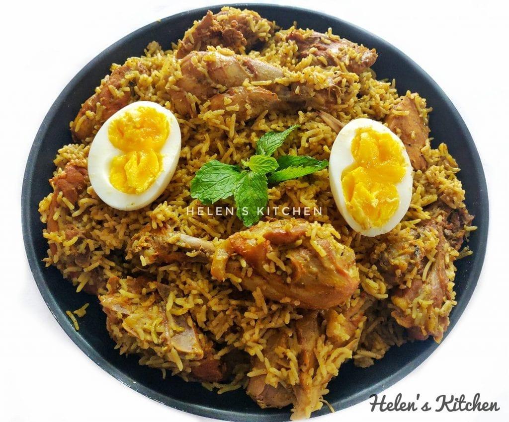 തലപ്പാക്കട്ടി ചിക്കൻ ബിരിയാണി - Thalappakatti Chicken Biriyani