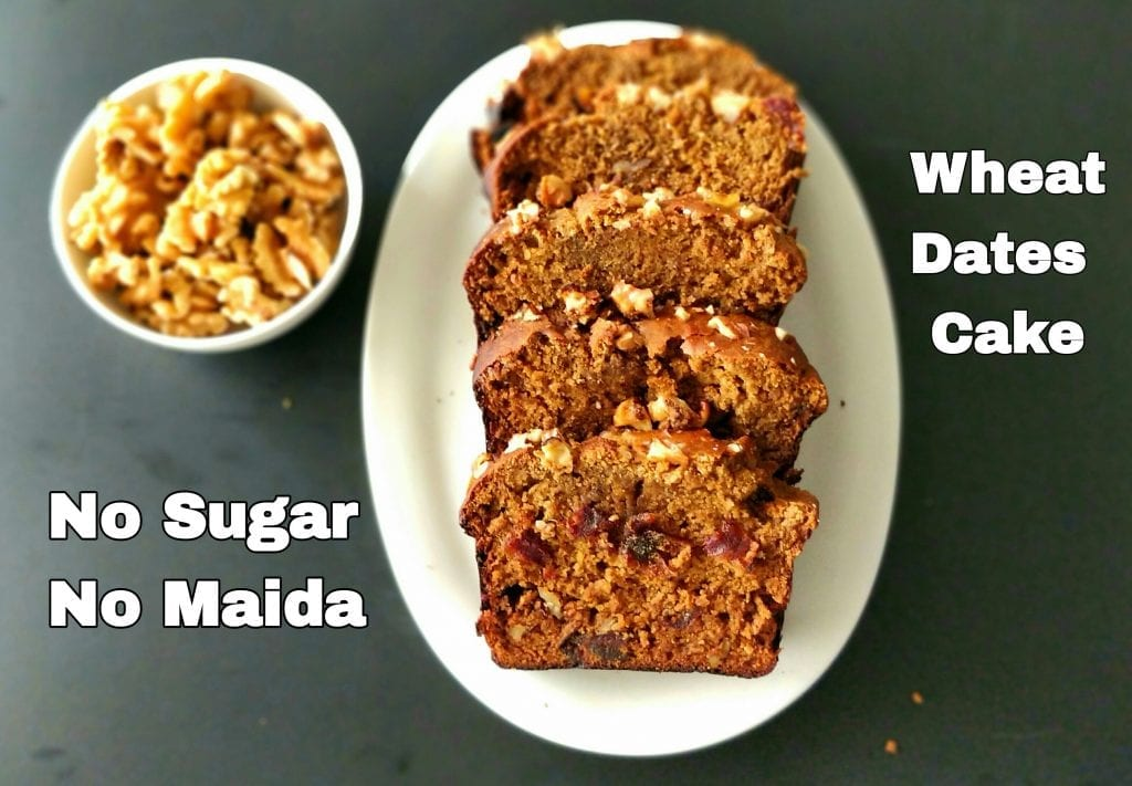Dates Cake with Wheat